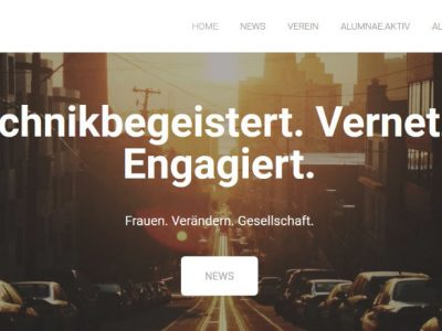 Website 2.0 – neues Design online (AG PR)