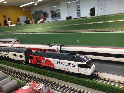 Die RG Zürich blickt hinter die Kulissen der Bahnsicherungstechnik