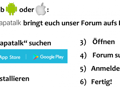 Geschützt: HowTo: Tapatalk (AG Homepage)