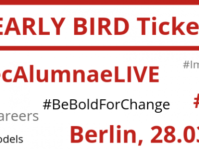 6. Dezember – Femtec.Alumnae LIVE 2019 Early Bird Tickets!