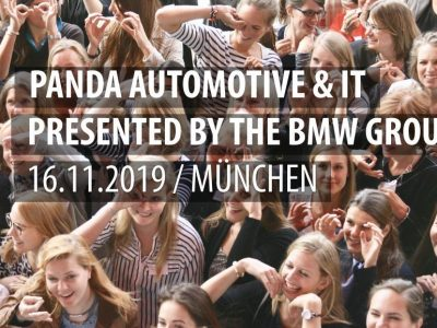 PANDA Automotive & IT presented by the BMW group am 16.11.2019 in München